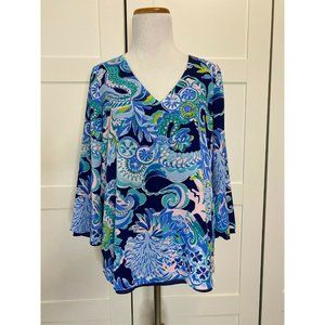 Lilly Pulitzer Florin 3/4 Sleeve Sirens Spirits